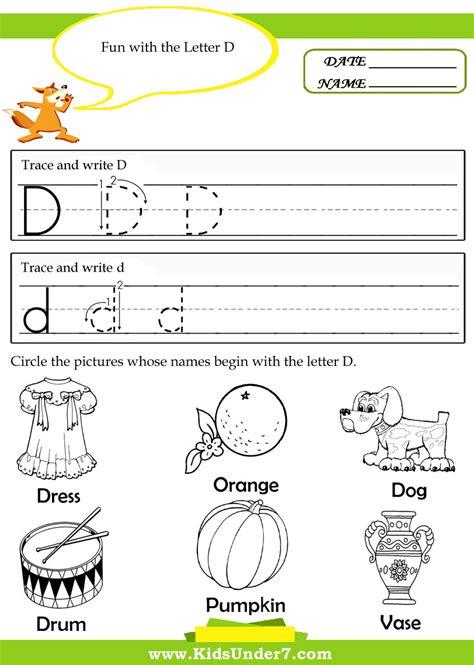 kindergarten letter writing worksheets free printable worksheets