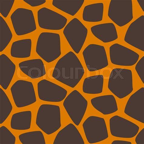 svg pattern safari giraffe skin vector seamless pattern giraffe brown and