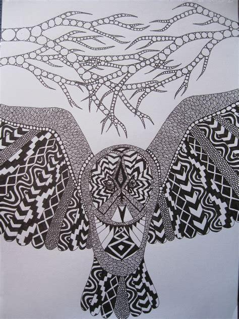 doodle owl doodle owl by veranna26 on deviantart