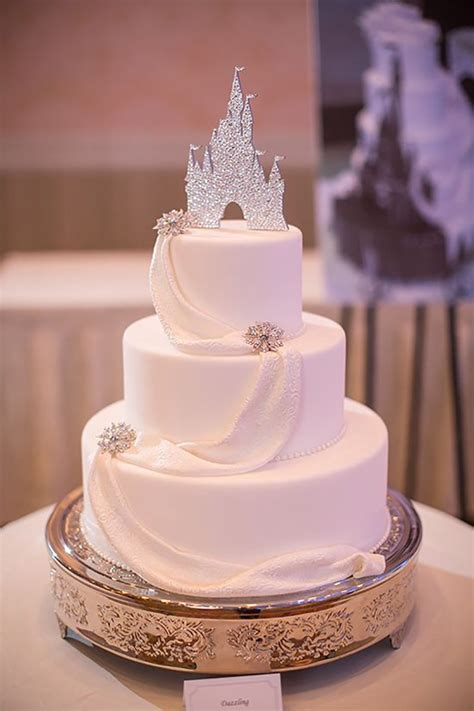 Disney Wedding Cake by Silver Wedding Cake Decorations Wedding Ideas By Colour