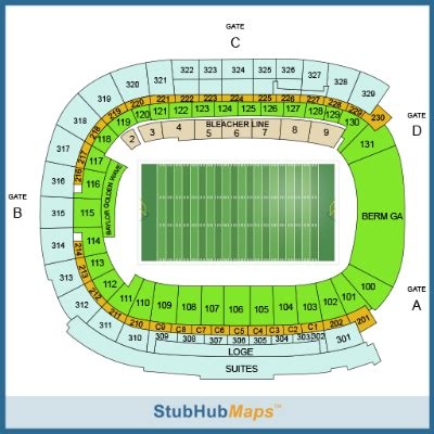 mclane stadium seating chart baylor football mclane stadium espn