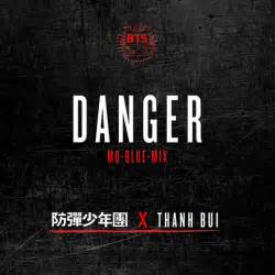 danger album cover by bts