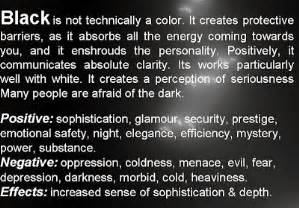 color black meaning meaning of colors psychology of color personality