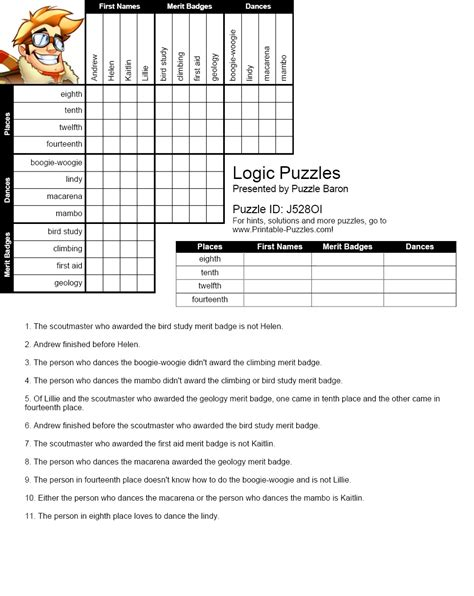 printable logic puzzles for 7th graders math puzzles worksheets 7th grade 6th grade printable