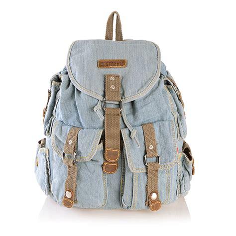 Backpak Jins light blue denim backpack on luulla