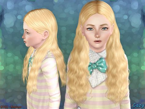 sims 3 child hair girl cazy s marion hairstyle set