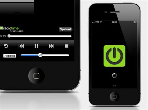 i radio app for android iradio app per iphone kreolo ui designer web e mobile bologna