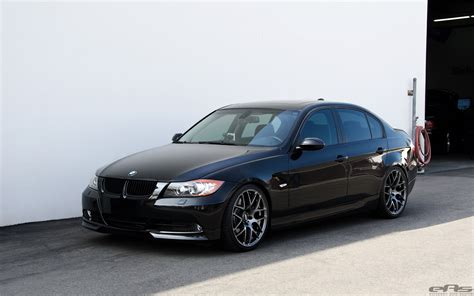 bmw black jet black bmw e90 335i looks clean with aftermarket wheels