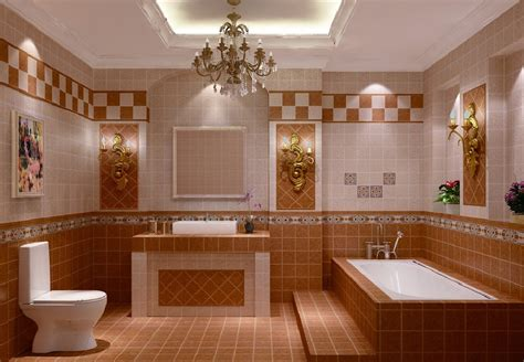 Home Interior Design With Tiles | 3d interior design bathroom tiles download 3d house