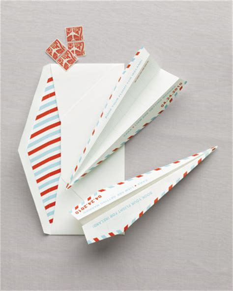 paper airplane place card template 66 diy wedding projects ideas part i