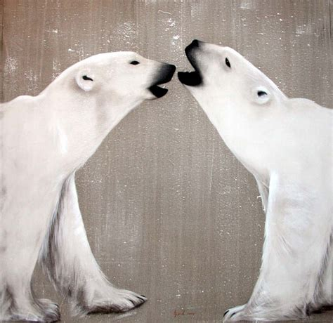 two polar bears in a bathtub 2 polar bears playing ours polaire blanc thierry bisch