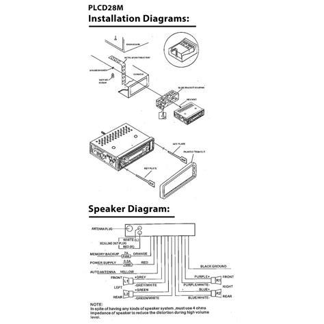 amazoncom pioneer deh 1300mp wiring diagram html autos