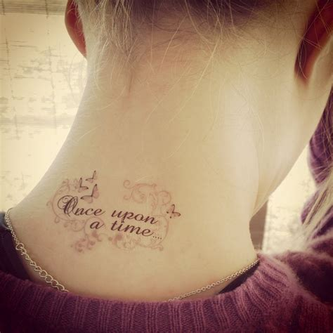 once upon a time tattoo temporary once upon a time