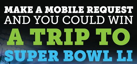 Marriott App Sweepstakes - marriott is giving away a trip to the superbowl to get you to use their mobile app