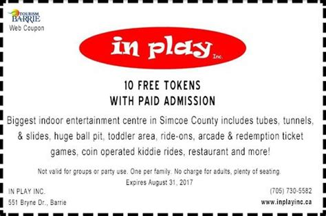 barrie ontario printable attractions coupons lifeology