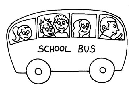 coloring page of school bus driver drawing school bus driver coloring pages drawing school