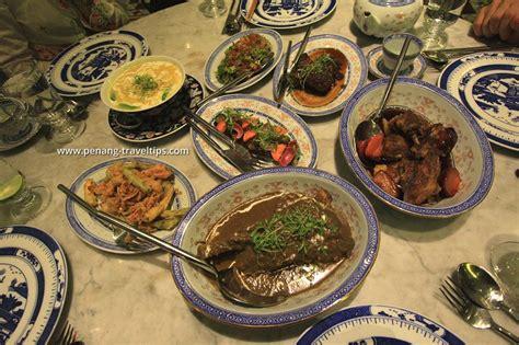 Kebaya Penang kebaya dining restaurant seven terraces