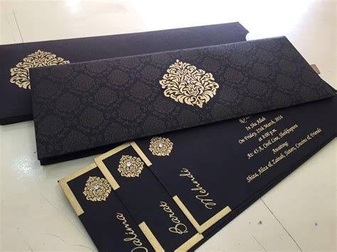 Wedding Invitation Cards Karachi by Zem Printers Wedding Card Wording