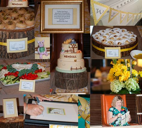 Classic Winnie The Pooh Baby Shower Ideas by Classic Pooh Baby Shower Goodness Lindsay S Projects