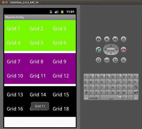 android gridview sle program android gridview static gridview creation in android dynamic gridview