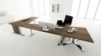 L Shaped Wood Desk 8 Most Inspiring About Casual And Modern Home Office Desks