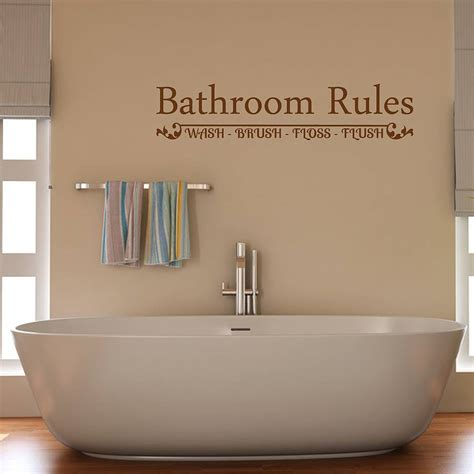 wall stickers for bathroom bathroom wall sticker by mirrorin