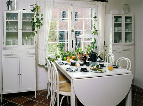 and small dining spaces