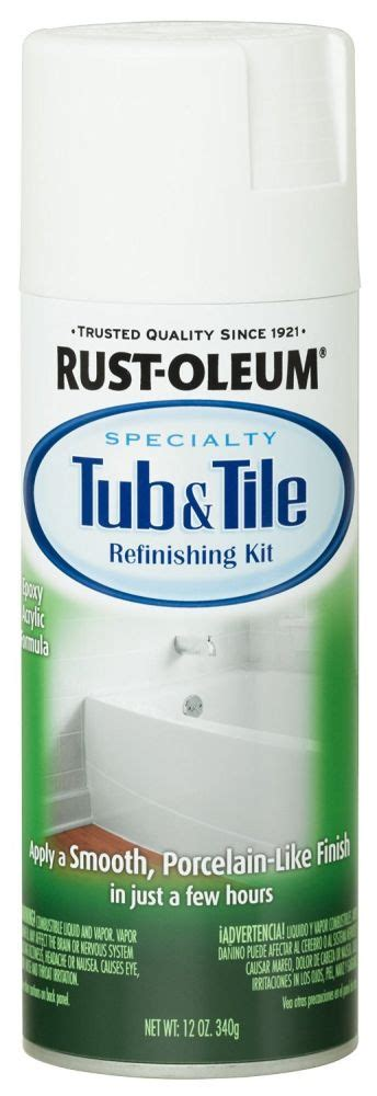 where to buy bathtub paint rust oleum 280882 12 oz specality tub and tile spray