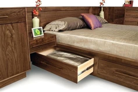 Nightstand With L Attached by King Bed With Nightstands Attached Florence Info