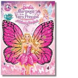 barbie mariposa fairy princess colouring storybook