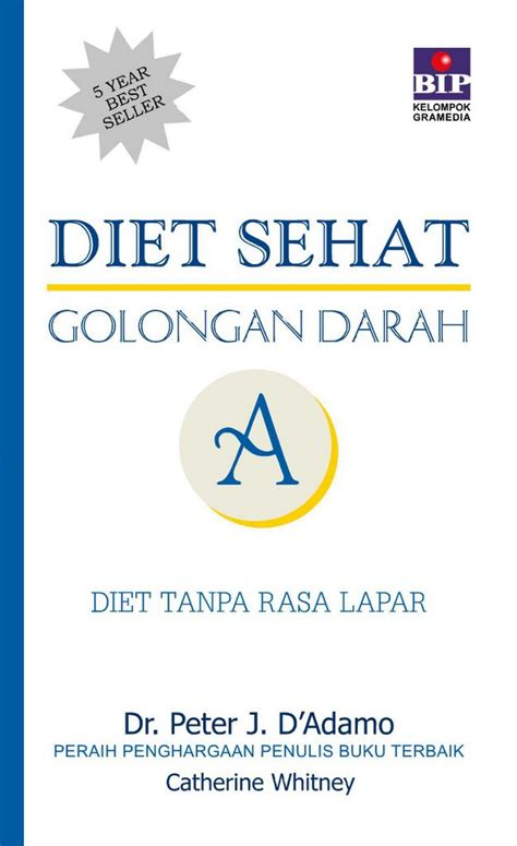 Diet Sehat Golongan Darah B Dr J D Adamo bhuana ilmu populer diet sehat golongan darah