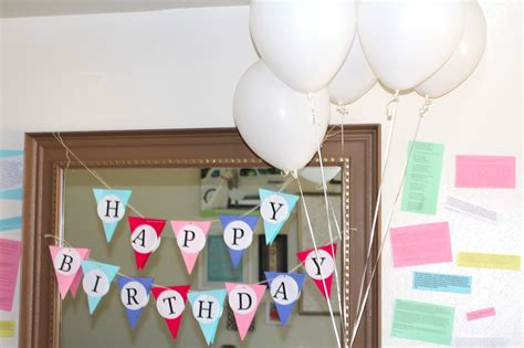 ideas for birthday decoration at home birthday decoration ideas at home for husband decoration