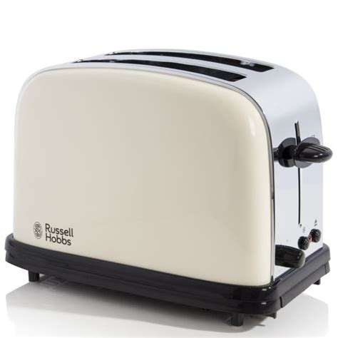 Russell Hobbs Toasters Russell Hobbs Classic 2 Slice Toaster Cream Homeware