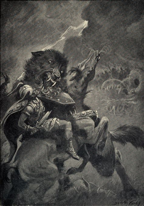 fenrir norse mythology  smart people