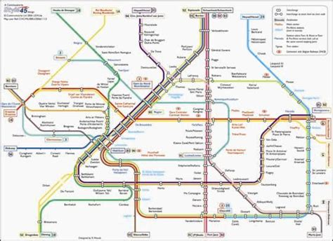 map of brussels stations metro kaart quotes