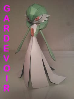 Gardevoir Papercraft - gardevoir papercraft is here by amigolol on deviantart