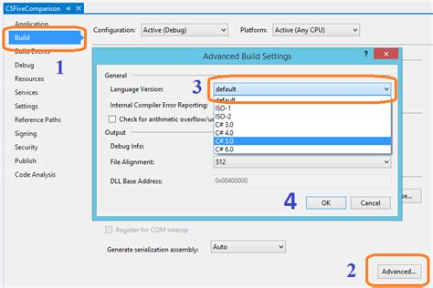 visual studio 2010 reset project settings how to change targeted c version in visual studio