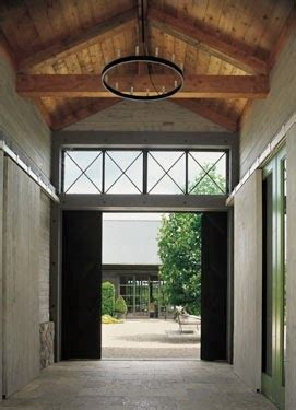 Glass And Steel Architecture Decorating Ideas Napa Style Barn Door
