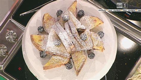 moroni dolci di casa la prova cuoco ricetta toast dolci alle more di
