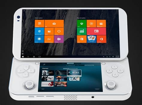 pc and console pgs lab s portable console promises to put pc gaming in