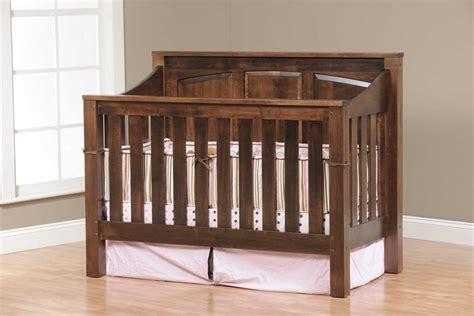 amish baby crib amish mission convertible crib