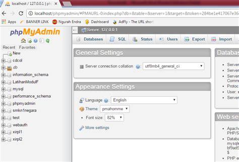 membuat database akademik langkah langkah membuat database di phpmyadmin ngurah endra