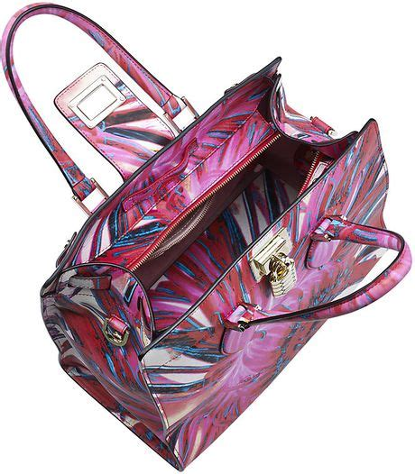 Roberto Cavalli Acapulco Large Hobo Purses Designer Handbags And Reviews At The Purse Page by Roberto Cavalli Medium Florance Bag With Floral Print In