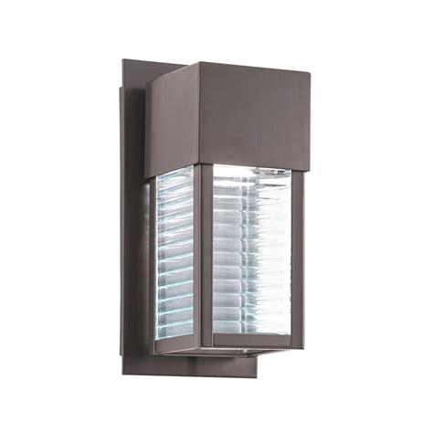 Kichler Led Outdoor Lighting Kichler 49117azled Sorel Led Outdoor Wall Light Sconce In Architectural Bronze Finish 28 Lights