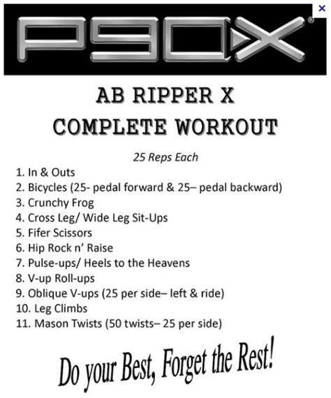 7 Reasons I The P90x Workout by P90x Ab Ripper My Fitness Pal P90x P90x Ab