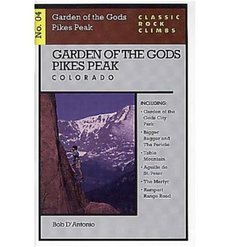 Garden Of The Gods Book Garden Of The Gods Pikes Peak Colorado Bob D Antonio