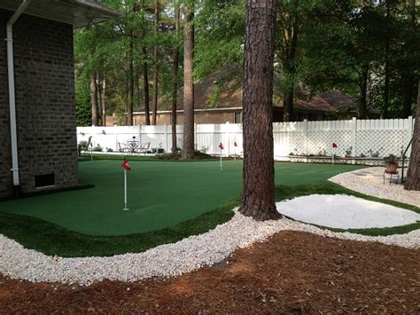 putting green in your backyard backyard putting greens carolina carolina outdoor
