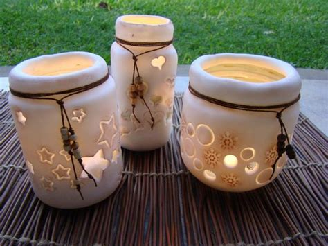 decoracion de frascos de vidrio con porcelana fria frascos decorados con porcelana fria artesanias pinterest