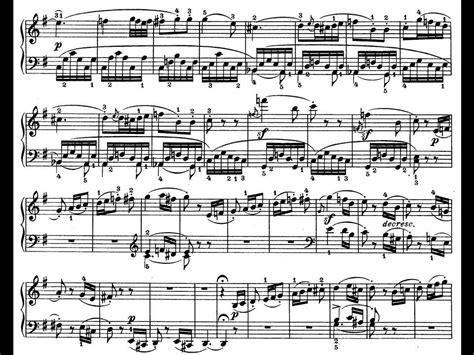 beethoven sonata para piano n 9 en mi mayor beethoven sonata para piano n 186 10 op 14 n 186 2 iii scherzo