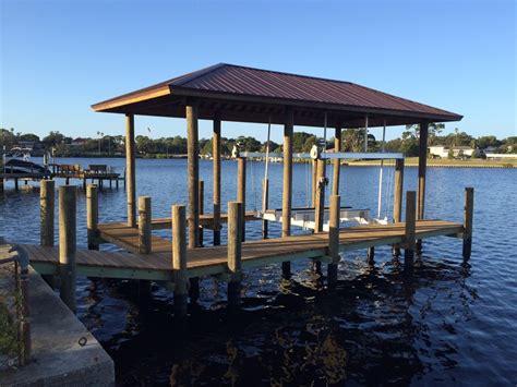 boat dock roof design docks roofs gulfside docks